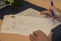 De handtekeningen